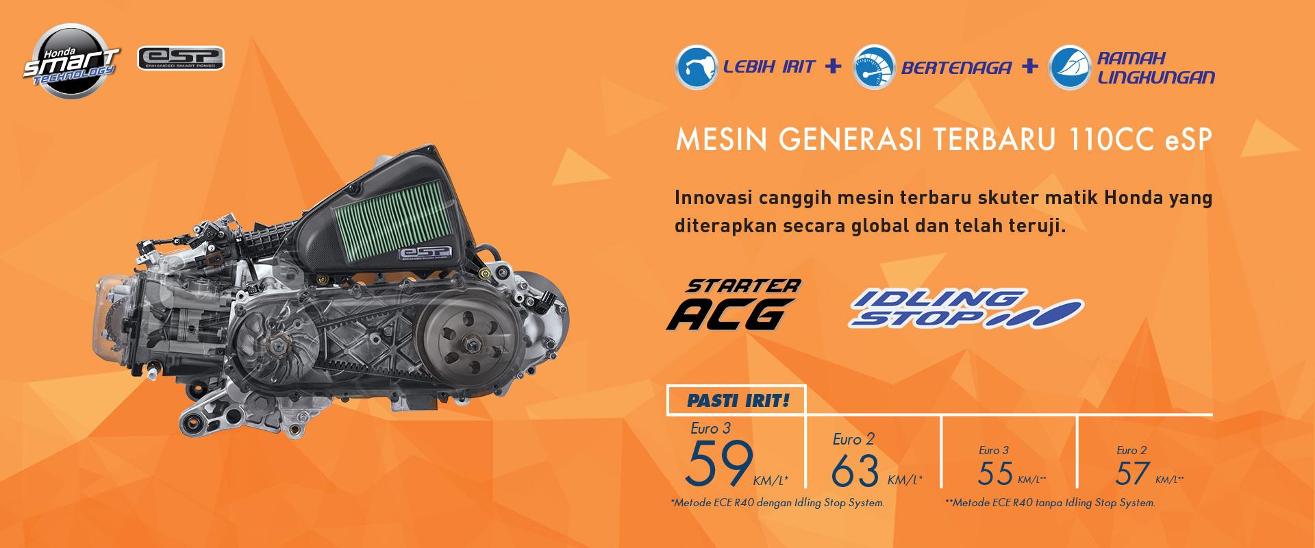 Harga Terbaru Honda Beat Sporty Esp Mutiara Motor New Cbs Iss 2017 Combi Brake System