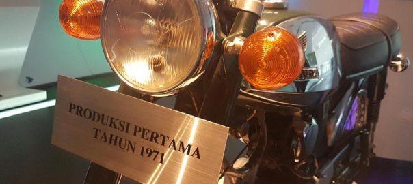 Motor Honda Rakitan Indonesia Pertama